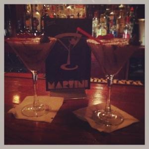 White choco martini