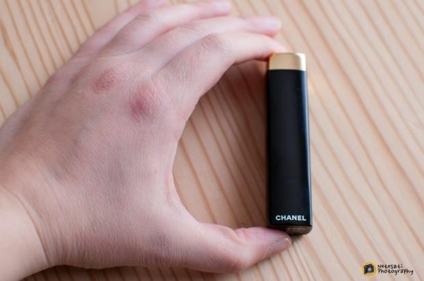 Chanel Rouge Allure Velvet no. 43 La Favorite case