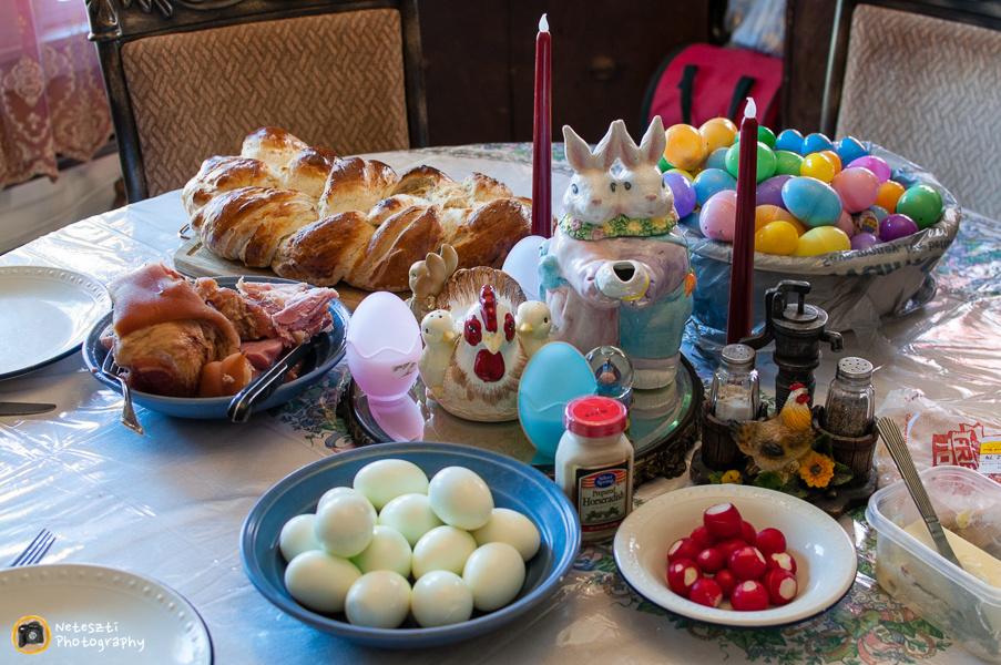 Hungarian easter meal neteszti for What is a traditional easter dinner
