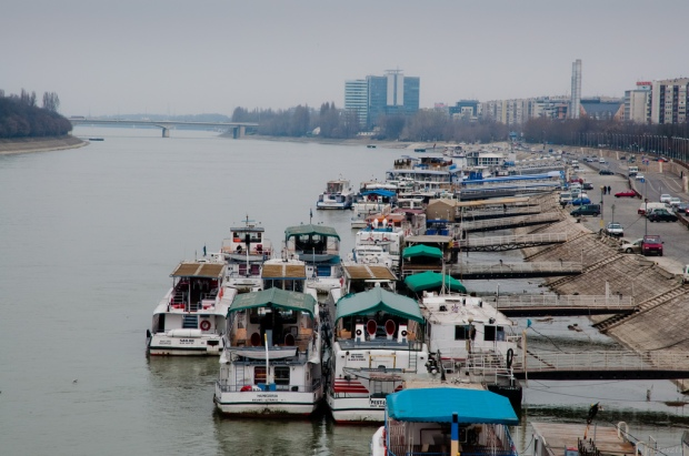 Boats on the Danube