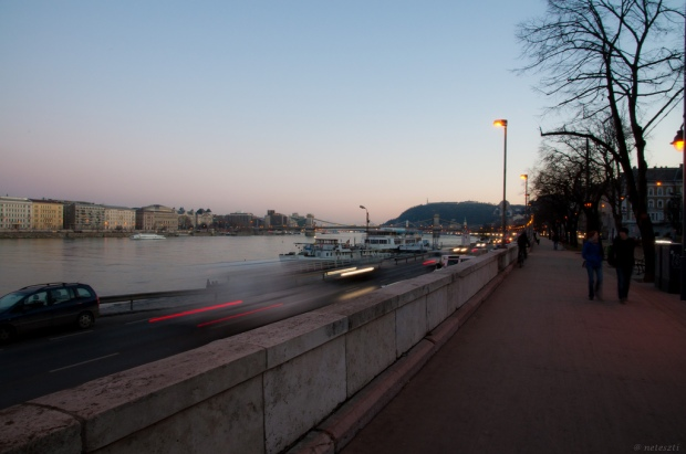 Walk by the Danube on the Buda side