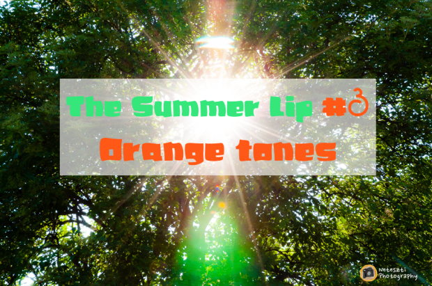 The Summer Lip_Orange tones
