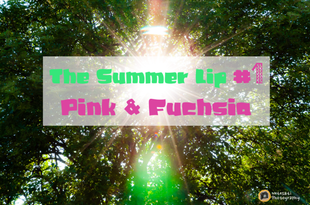 The Summer Lip_Pink and Fuchsia